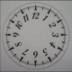 cadran de montre
