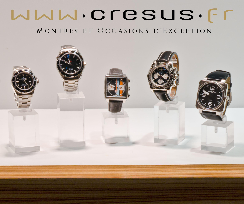 cresus montres