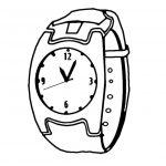 dessin de montre