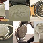 gravure montre