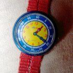 montre flip flap
