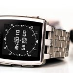 montre pebble