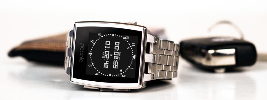 montre pebble