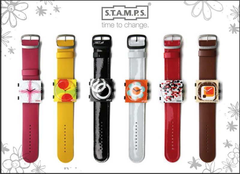 montre stamps