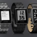 pebble montre